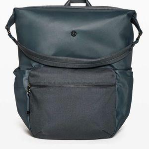 Lululemon easy days nwot blue backpack bag